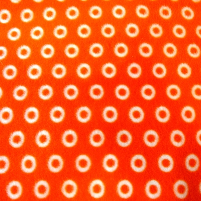 Cosmic Orange Fabric